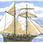 Merchant Ship converted to warship, War of 1812